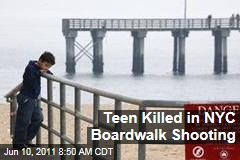 New York City Brighton Beach Boardwalk Shooting Kills Teen, Injures 4