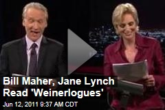 Bill Maher, Jane Lynch Read Anthony Weiner's Facebook Exchanges With Vegas Blackjack Dealer