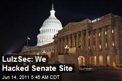 LulzSec Boasts of Senate Hack