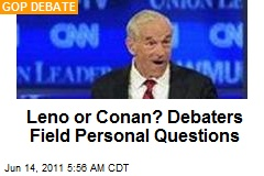Leno Or Conan? Debaters Field Personal Questions
