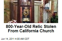 800-Year-Old Relic of St Anthony Stolen From Long Beach Church