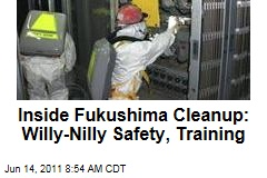 Fukushima Dai-ichi Workers Describe Lax Safety at Japanese Nuclear Power Plant
