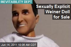 Sexually Explicit Weiner Doll for Sale
