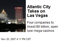 Atlantic City Takes on Las Vegas