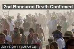 2nd Bonnaroo Death Confirmed