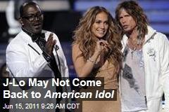 Jennifer Lopez American Idol Judge: Singer Is Undecided on Next Season