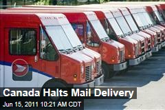 Canada Post Strike: Mail Delivery Stops During Crippling Worker Strike