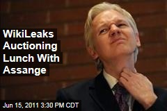 Lunch with Julian Assange: WikiLeaks Fundraiser Offers Lunch for Eight