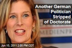 Silvana Koch-Mehrin Stripped of Doctorate: Former VP of European Parliament Plagiarized Thesis