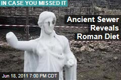 Herculaneum Sewer Reveals Roman Diet of 2,000 Years Ago