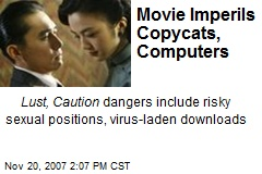 Movie Imperils Copycats, Computers