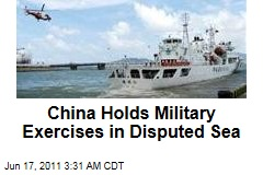 China Holds Military Exercises in Disputed South China Sea