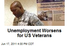 Unemployment Worsens for US Veterans