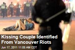 Vancouver Couple Kissing Amid Riots Identified as Scott Jones and Alexandra Thomas