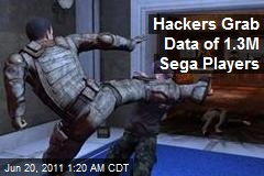 Hackers Grab Data of 1.3M Sega Players