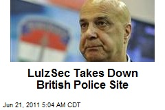 LulzSec Takes Down British Police Site