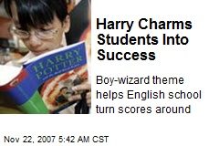 Harry Charms Students Into Success