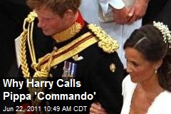 Why Harry Calls Pippa 'Commando'