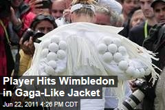 Bethanie Mattek-Sands Wimbledon Jacket: Strange Tennis Ensemble Inspired by Lady Gaga