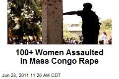 100+ Women Assaulted in Mass Congo Rape