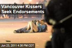 Vancouver Riot 'Kissing Couple' Scott Jones and Alexandra Thomas Seek Endorsements