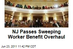 New Jersey Worker Benefit Cuts Pass Assembly