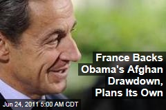 Nicolas Sarkozy's France Backs President Obama's Afghanistan War Troop Drawdown