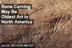 Ancient Mammoth Carving: First Record of Art in North America