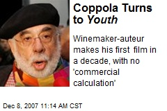 Coppola Turns to Youth