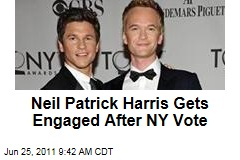 Neil Patrick Harris and David Burtka Engaged After New York Vote on Gay Marriage