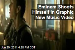 Eminem Shoots Himself in Graphic New Music Video for 'Space Bound'
