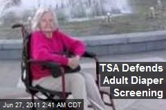 TSA Defends Adult Diaper Screening