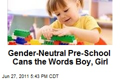 Egalia Swedish Gender-Less Pre-School