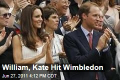 Prince William, Kate Visit Wimbledon: Watch Andy Murray's Win