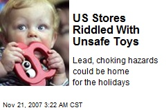 US Stores Riddled With Unsafe Toys