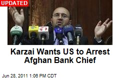 Afghan Bank Investigator Quits, Savages Karzai