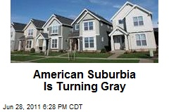 American Suburbia Is Turning Gray