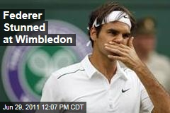 Roger Federer Upset by Jo-Wilfried Tsonga at Wimbledon