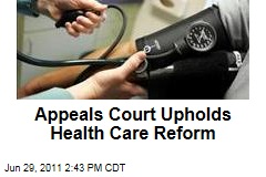 Federal Appeals Court Upholds President Obama's Health Care Reform