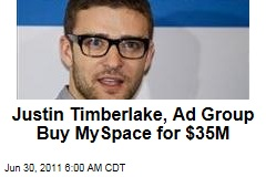 Justin Timberlake, Specific Media Buy MySpace for 2006