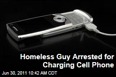 Maine Homeless Man Arrested for Charging Cell Phone: Shaun Fawster Charged With 'Theft of Services'