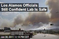 Los Alamos Nuclear Lab Still Safe From Wildfire Threat
