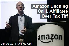 Sales Tax Law Prompts Amazon.com to Drop Its California Affiliates