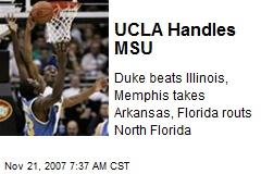UCLA Handles MSU