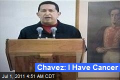 Chavez Reveals Cancer Surgery
