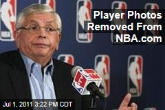 Player Photos Removed from NBA.com During Lockout