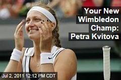 Petra Kvitova Beats Maria Sharapova to Win Wimbledon