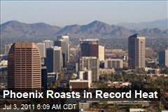 Phoenix Roasts in Record Heat