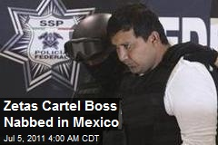 Zetas Cartel Boss Nabbed in Mexico