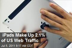 iPads Make Up 2.1% of US Web Traffic
